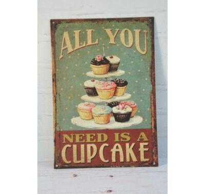 Cupcake táblakép