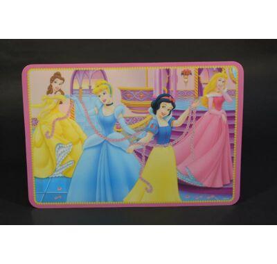 Disney hercegnők műanyag tányéralátét  42x28 cm