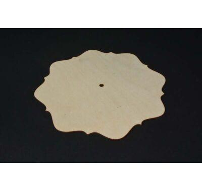 Kerek hullámos óralap-dekorálható 26 cm