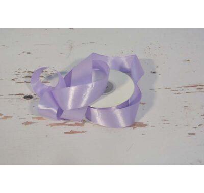 Szatén-szalag dekorációs 25 mm  világos lila