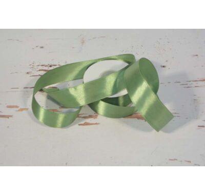 Szatén-szalag dekorációs 25 mm  zöld