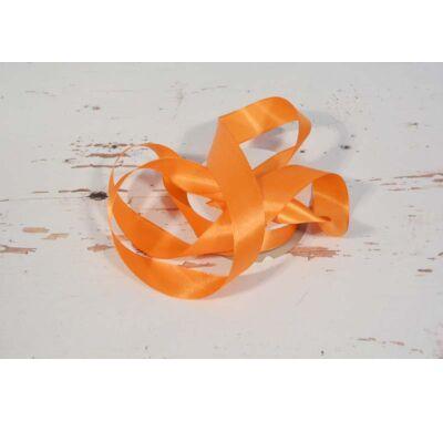 Szatén-szalag dekorációs 25 mm narancs