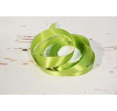 Szatén-szalag dekorációs 25 mm oliva zöld