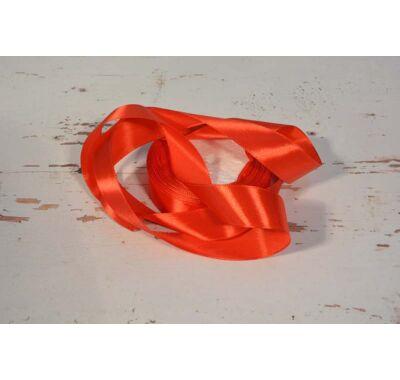 Szatén-szalag dekorációs 25 mm piros