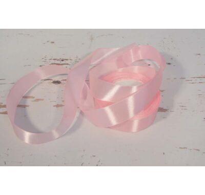 Szatén-szalag dekorációs 25 mm rózsaszín