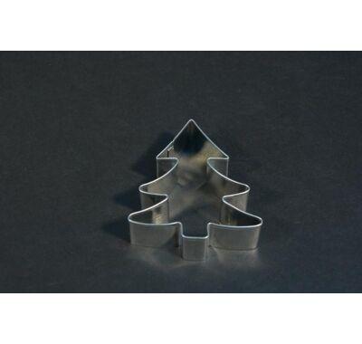 Karácsonyi fenyőfa süteménykiszúró mézeskalácskiszúró 7 cm
