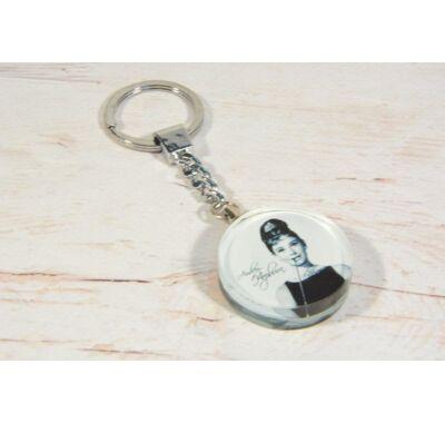 Audrey Hepburn kulcstartó