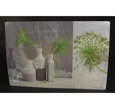 Műanyag tányéralátét vázák 4 db 45x30cm