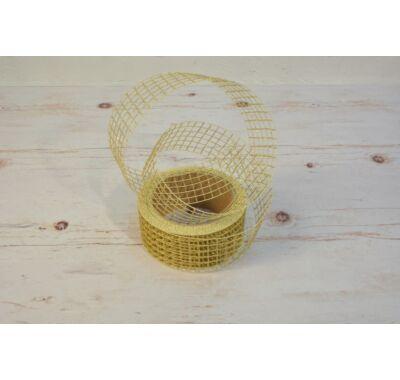 Hálós szalag arany 4,5 cm