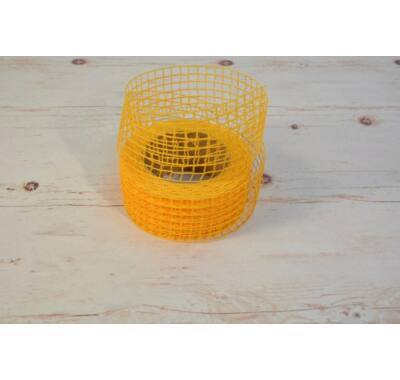 Hálós szalag-narancssárga 5 cm