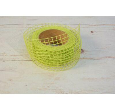 Hálós szalag-zöld 5 cm