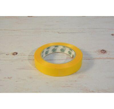Papírszalag-napsárga dekorációs papírszalag 2 cm