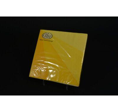Sárga parti papírszalvéta 33x33 cm
