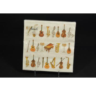 hangszerek szalvéta