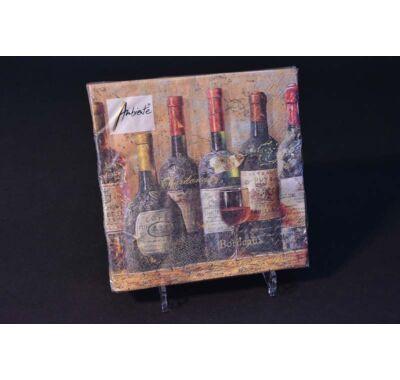 Őszi boros partiszalvéta 33x33cm 20 db