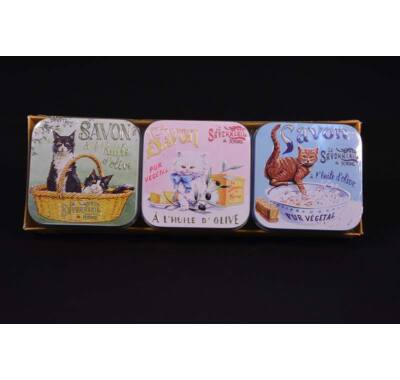 La Savonnerie de Nyons parfüm szappan 3x100 g