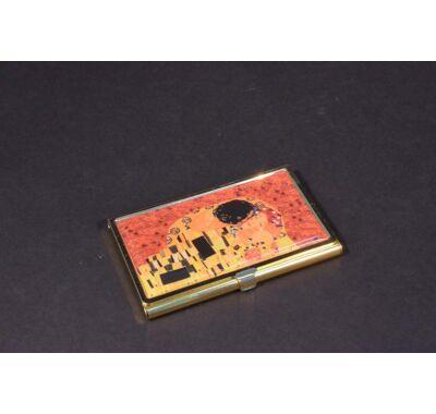 Névjegytartó névjegykártya tartó Klimt  A csók
