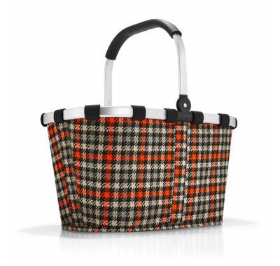 Reisenthel carrybag  kockás bevásárló kosár