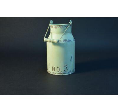 Fém váza tejeskanna