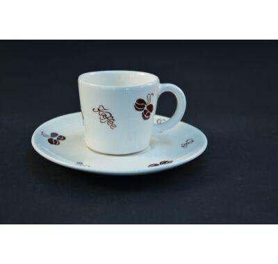 Cappuccinos csésze csészealjjal