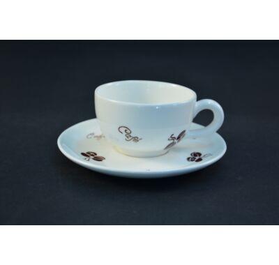 kávészemes capuccinos csésze