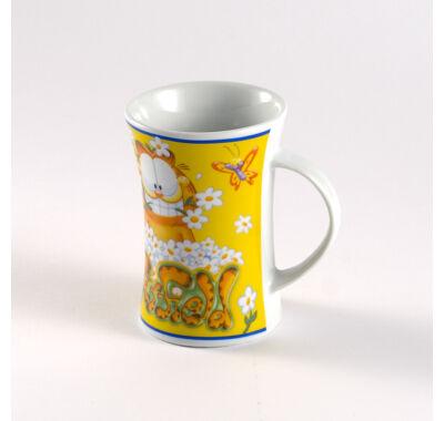 Garfield porcelán bögre