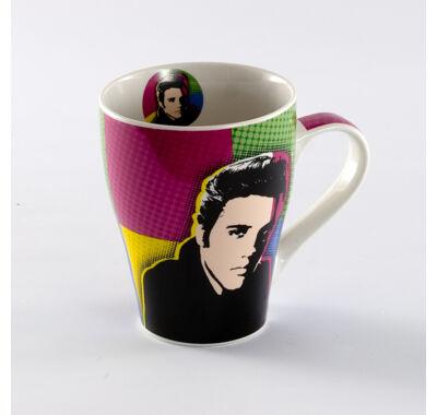 Elvis  Presley teás-kávés bögre 4 dl