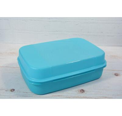 Szögletes műanyag konyhai  tároló doboz