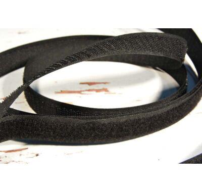 Varrható tépőzár 50 mm fekete párban