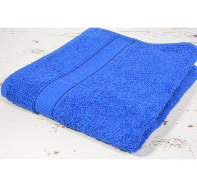 Király kék frottír törölköző 100x140cm