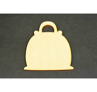 Fa táska-dekorálható fa alap