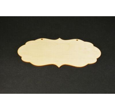 Íves fa tábla dekorálható fa alap
