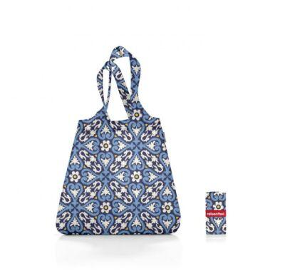 Reisenthel Mini maxi shopper összehajtható  bevásárló szatyor kék mintás