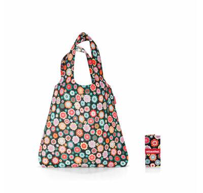 Reisenthel Mini maxi shopper összehajtható  bevásárló szatyor virágos