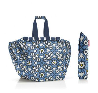 Reisenthel easyshoppingbag bevásárló kocsira akasztható bevásárló táska virág mintás