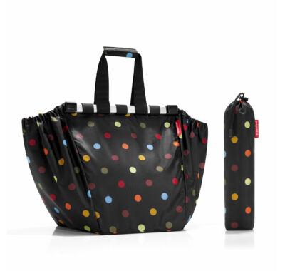 Reisenthel easyshoppingbag bevásárló kocsira akasztható bevásárló táska pöttyös