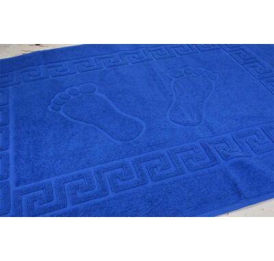 Király kék frottír fürdőszobai kádkilépő 50x70cm