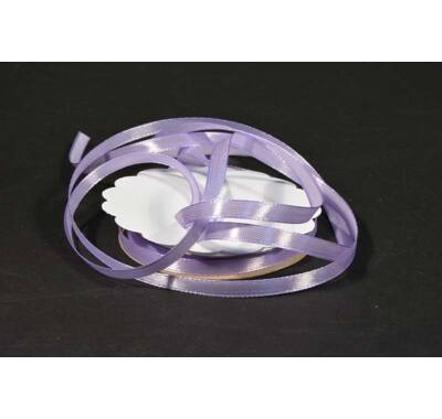 szatén szalag 6 mm x 20 m világos lila