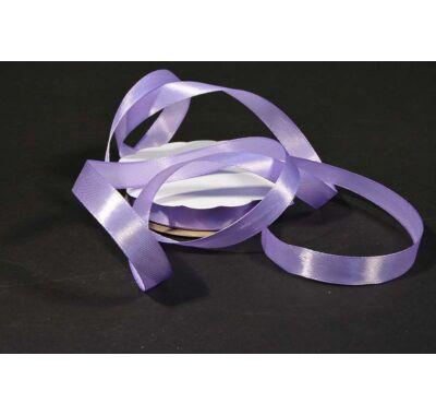 szatén szalag 12 mm világos lila