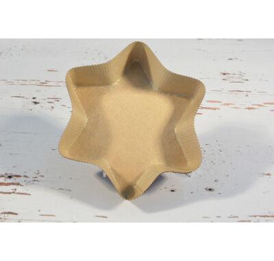 papír csillag sütőforma