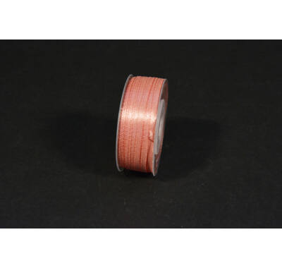szatén szalag  3 mm x 50 m old pink