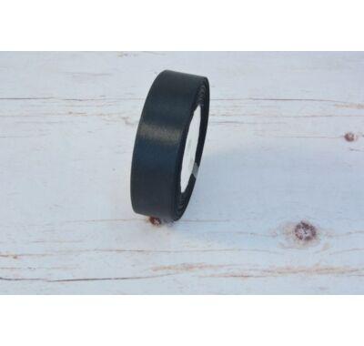 Szatén-szalag dekorációs 25 mm fekete