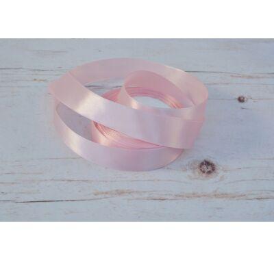Szatén-szalag dekorációs 25 mm baba rózsaszín