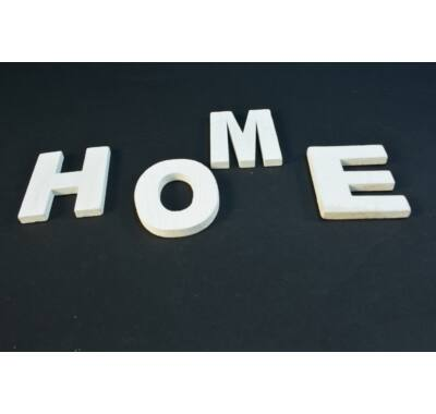 Betű dekoráció - HOME