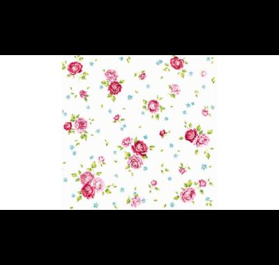 Decoupage apró rózsás papírszalvéta 33x33cm