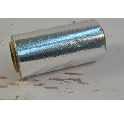 Bonbon csomagoló fólia - ezüst mintás