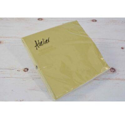 Papírszalvéta - arany 33 x 33 cm