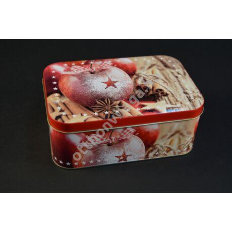 karácsonyi süteményes doboz
