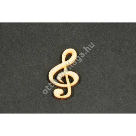 dekorálható violin kulcs