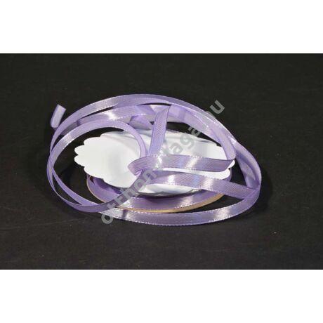 szatén szalag 6 mm  világos lila